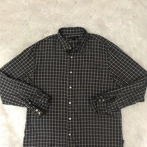 John Varvatos Shirts - John Varvatos plaid button down shirt size XL